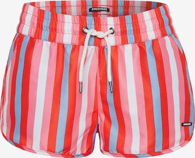 CHIEMSEE Plavecké šortky - světlemodrá / pink / bílá, Produkt