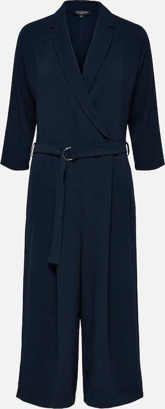 SELECTED FEMME Jumpsuit 'Dalima' in navy  Mode neue Kleidung