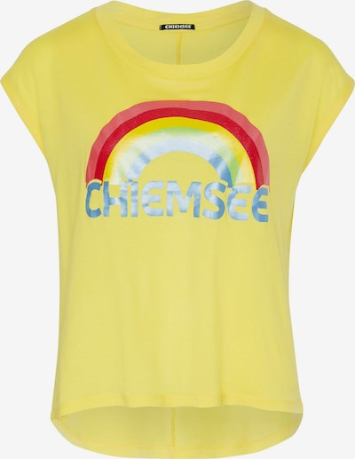 CHIEMSEE Shirt in gelb / rot, Produktansicht