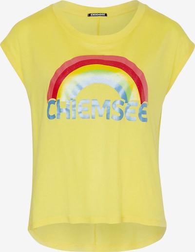 Tricou funcțional CHIEMSEE pe galben / roșu, Vizualizare produs