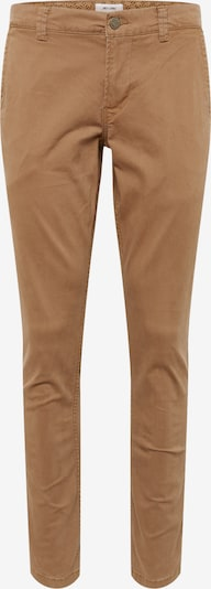 Only & Sons Pantalon chino 'onsTARP WASHED PK 3726 NOOS' en caramel, Vue avec produit
