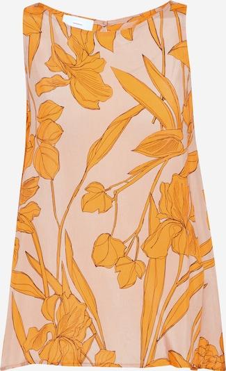 CINQUE Blusentop 'TAFFY' in beige / orange, Produktansicht