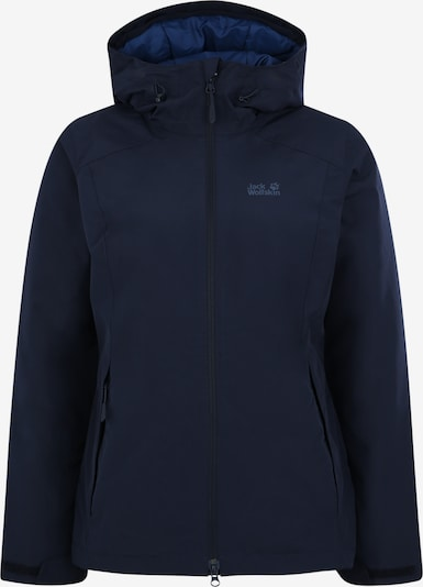 JACK WOLFSKIN Sportjacke 'Chilly Morning' in nachtblau, Produktansicht