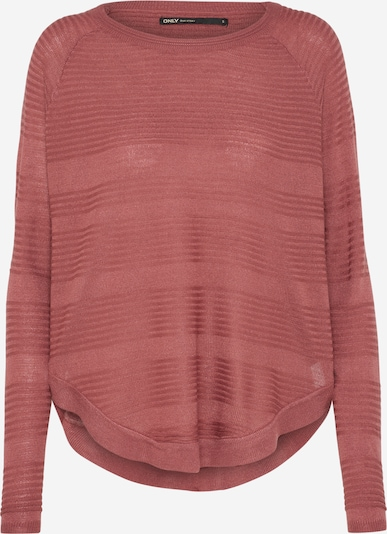 ONLY Pullover 'CAVIAR' in pastellrot, Produktansicht