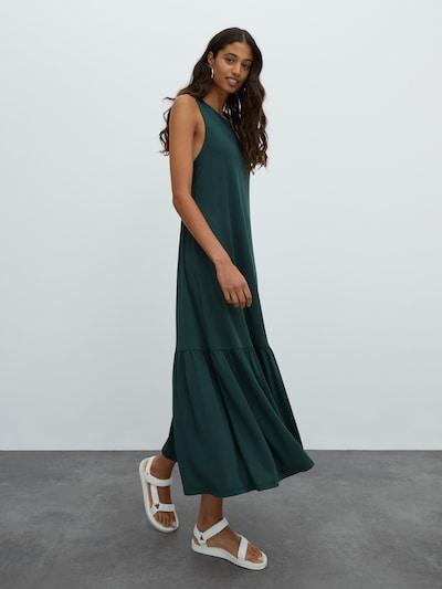 EDITED Kleid 'Elenia' in smaragd, Modelansicht