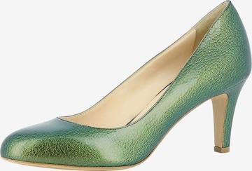 Escarpins 'BIANCA' EVITA en vert