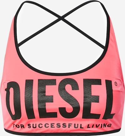 DIESEL Góra bikini 'SHIKI' w kolorze różowy / czarnym, Podgląd produktu