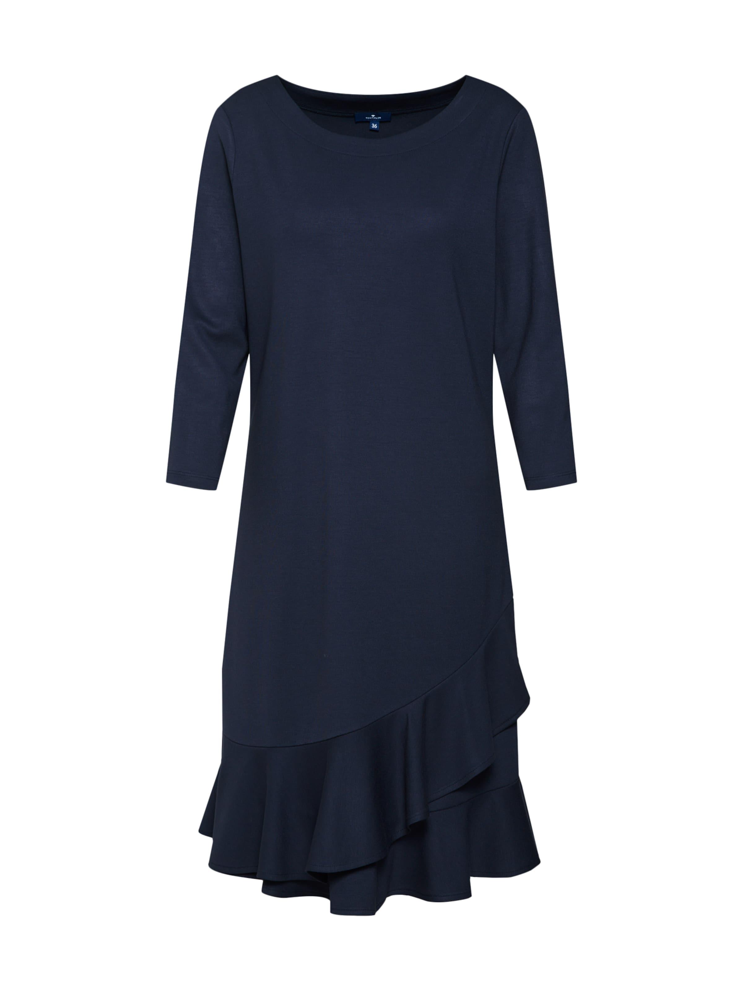 Bleu Robe Tom Tailor En Marine srtQdh