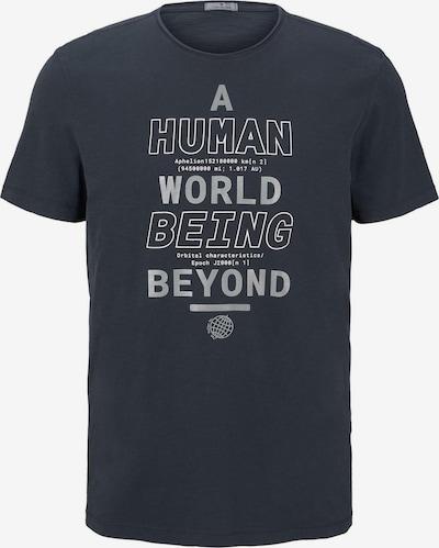 TOM TAILOR T-Shirt en gentiane, Vue avec produit