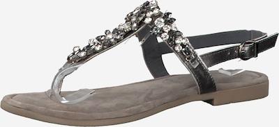 MARCO TOZZI Sandale in grau, Produktansicht