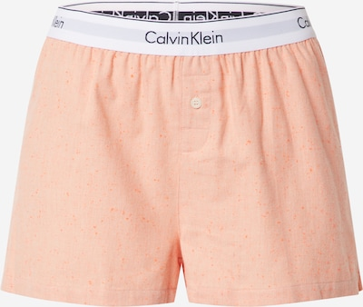Calvin Klein Underwear Shorty 'SLEEP SHORT' en orange, Vue avec produit