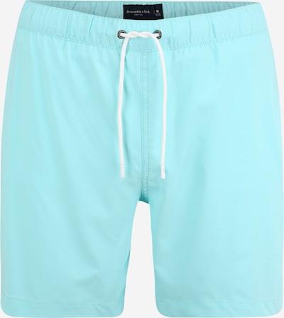 Abercrombie & Fitch Zwemshorts in de kleur Aqua, Productweergave