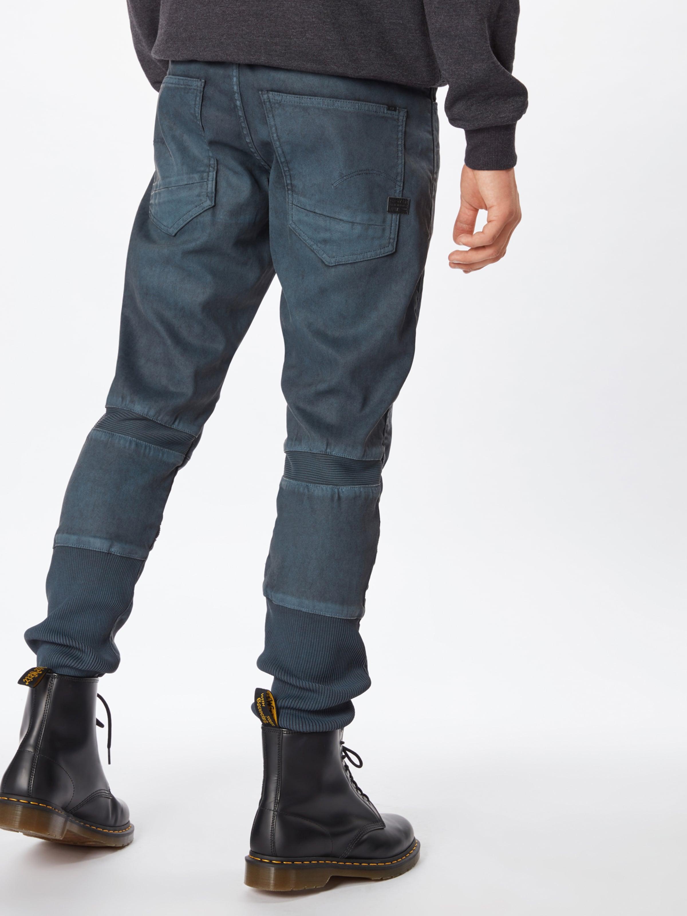 star Jean Slim' En Denim Raw 'motac G Bleu 3d Sec yNvOm8w0n