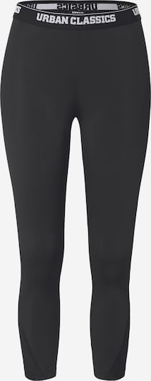 fekete Urban Classics Leggings 'Ladies Tech Mesh Pedal Pusher Leggings', Termék nézet