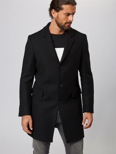 DRYKORN Manteau mi-saison 'BLACOT' en noir, Vue avec modèle