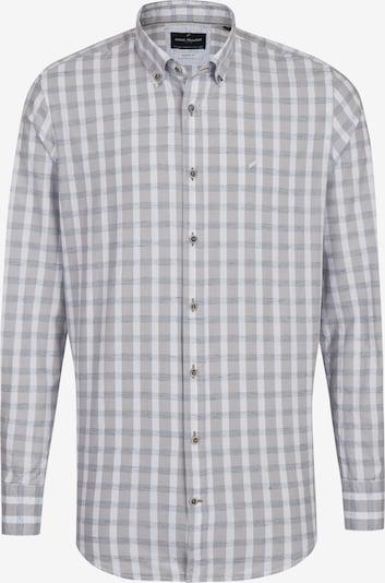 DANIEL HECHTER Freizeithemd in hellgrau / weiß, Produktansicht