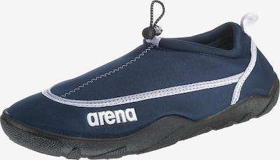 ARENA Badeschuhe 'Bow' in dunkelblau / weiß, Produktansicht