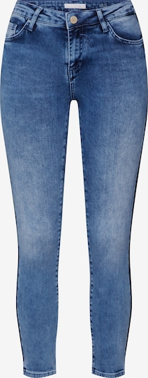 Rich & Royal Jean 'Lace Tape' en bleu: Vue de face