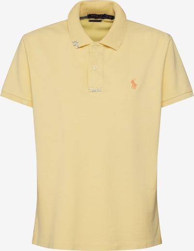 POLO RALPH LAUREN Shirt 'FIT RM-CLASSIC-SHORT SLEEVE-KNIT' in de kleur Geel, Productweergave