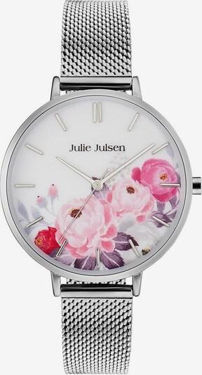 Julie Julsen Uhr in mischfarben / silber, Produktansicht