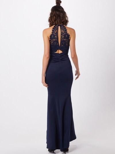 Vakarinė suknelė 'REPEAT AC AUG APPLIQUE MAXI DRESS' iš Lipsy , spalva - tamsiai mėlyna: Vaizdas iš galinės pusės