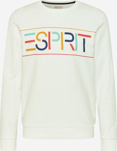 ESPRIT Sweat-shirt en bleu marine / bleu pastel / jaune d'or / rouge clair / blanc cassé, Vue avec produit