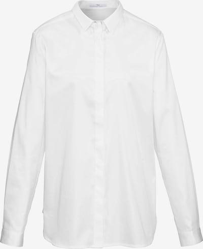 Peter Hahn Bluse im Oversized-Schnitt in weiß, Produktansicht