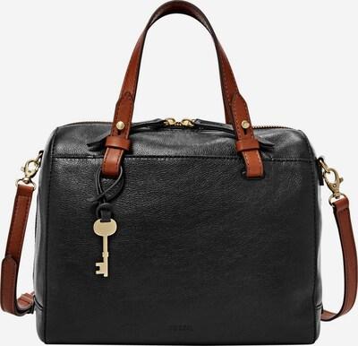 FOSSIL Handtasche 'Rachel' in rostbraun / schwarz, Produktansicht