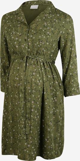 MAMALICIOUS Kleid 'Levetta' in oliv / pastelllila / orange / schwarz / weiß, Produktansicht