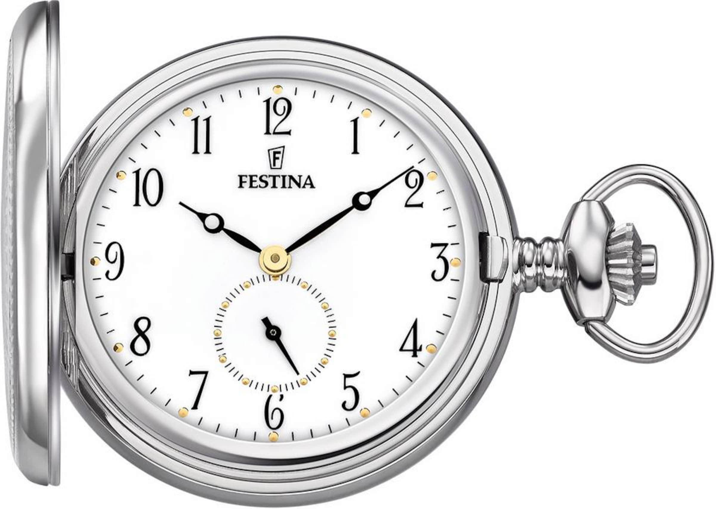 FESTINA Taschenuhr 'F2026/1' (Set, 2 tlg.)