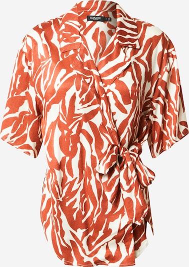 SOAKED IN LUXURY Bluse 'Nikaia' in beige / orange, Produktansicht