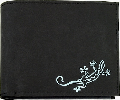 OXMOX Geldbörse in mint / schwarz, Produktansicht