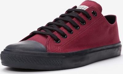 Ethletic Sneaker in dunkelrot / schwarz, Produktansicht