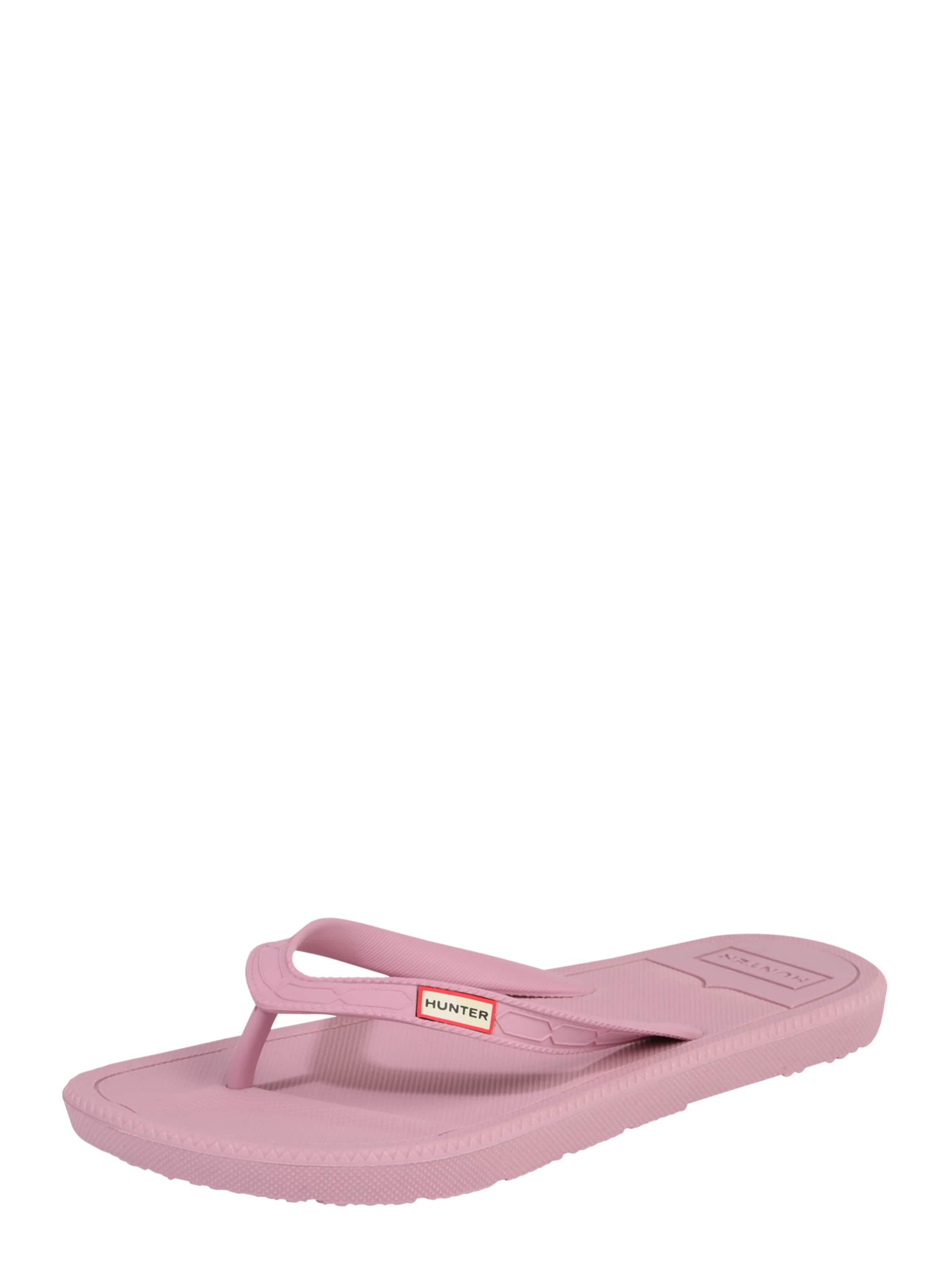 Haltbare Mode billige Schuhe Logo HUNTER | Zehentrennersandale mit Logo Schuhe Schuhe Gut getragene Schuhe 1ff413