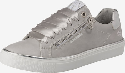 Dockers by Gerli Sneakers Low in grau / silber, Produktansicht