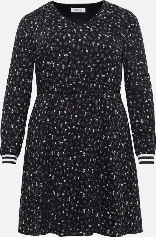 SheeGOTit Kleid in aubergine   schwarz  Großer Rabatt