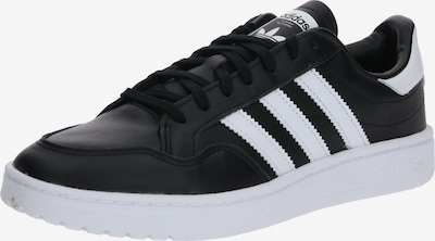 ADIDAS ORIGINALS Sneaker low 'Team Court' i sort / hvid, Produktvisning