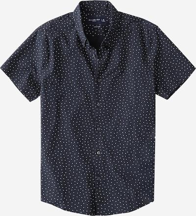 Abercrombie & Fitch Hemd in navy / weiß, Produktansicht