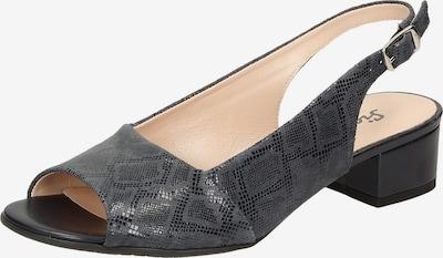 SIOUX - Sandale 'Zippora' in nachtblau