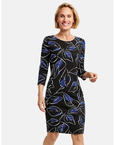 GERRY WEBER Kleid in himmelblau / hellblau / schwarz / weiß, Modelansicht