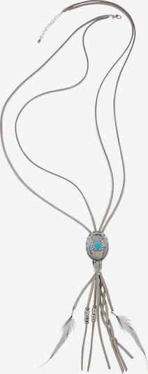 LASCANA Kette in türkis / grau, Produktansicht