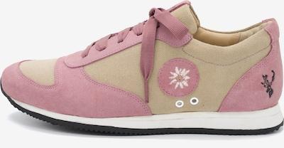 SPIETH & WENSKY Sneaker 'Lola' in beige / rosa: Frontalansicht