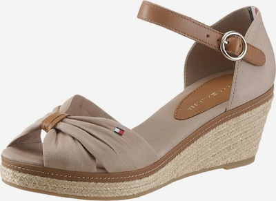 TOMMY HILFIGER Sandale in beige / hellbraun, Produktansicht