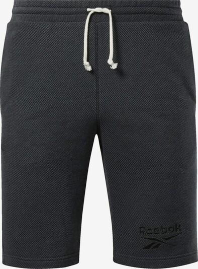 REEBOK Pantalon de sport en gris foncé, Vue avec produit
