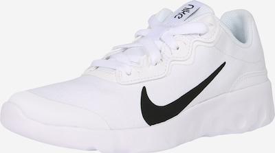 Nike Sportswear Sneaker 'EXPLORE STRADA' in schwarz / weiß: Frontalansicht