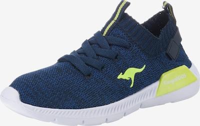 KangaROOS Sneakers in de kleur Navy / Limoen, Productweergave