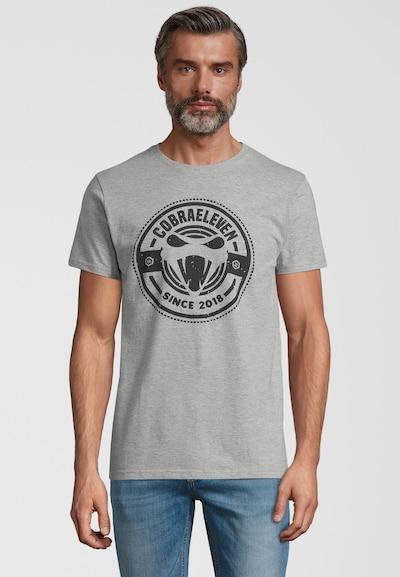 COBRAELEVEN T-Shirt 'COBRAELEVEN' T-Shirt by Erdogan Atalay in grau, Produktansicht