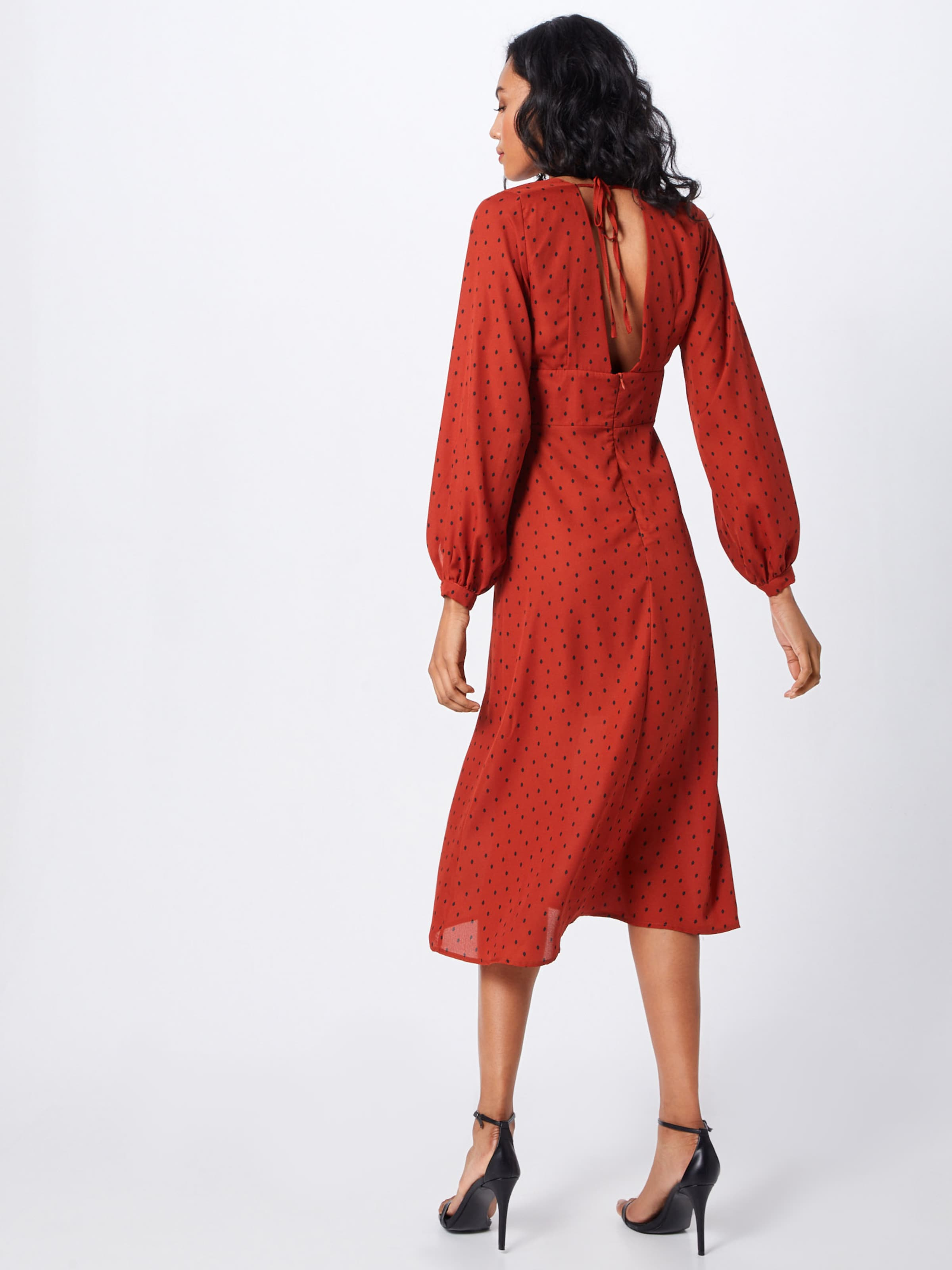 Fashion Union RougeNoir 'flirty' En Robe thrCsQd