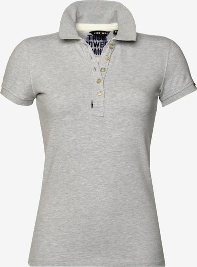 CODE-ZERO Shirt 'Shore Polo' in de kleur Grijs gemêleerd, Productweergave