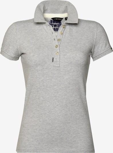 CODE-ZERO Poloshirt 'Shore Polo' in graumeliert, Produktansicht